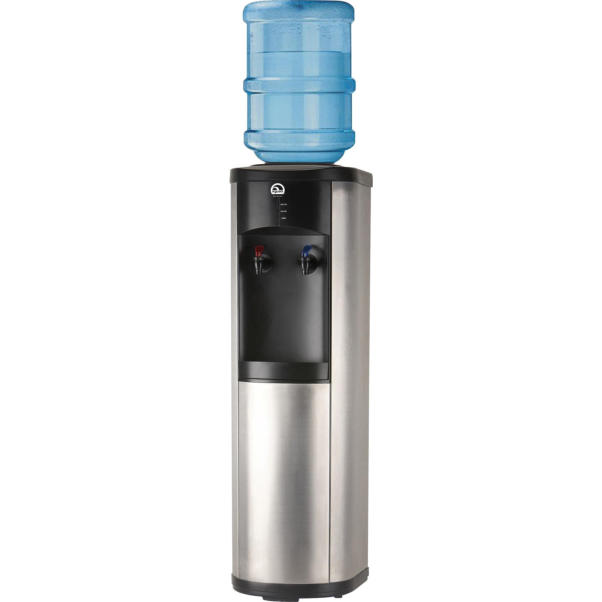 Igloo Bottom-Loading Water Dispenser, Black