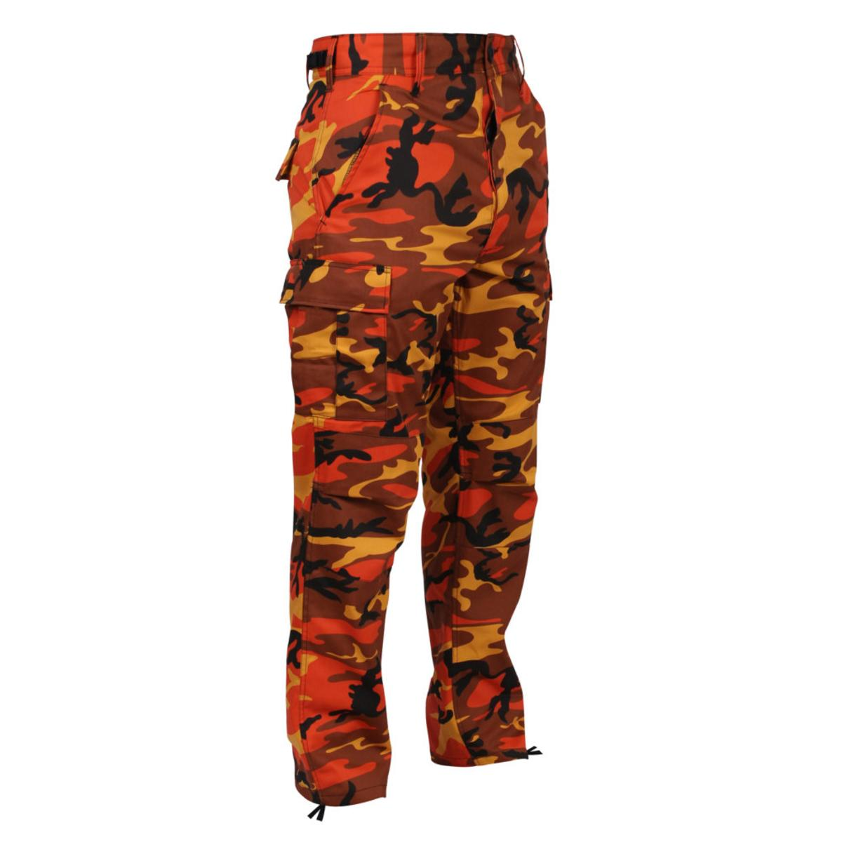 Ultra Force Savage Orange Camouflage B.D.U. Pants