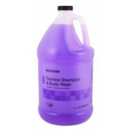 Mckesson Tearless Shampoo   Body Wash Mckesson 1 Gal  Lavender Jug  53 29001 Gl