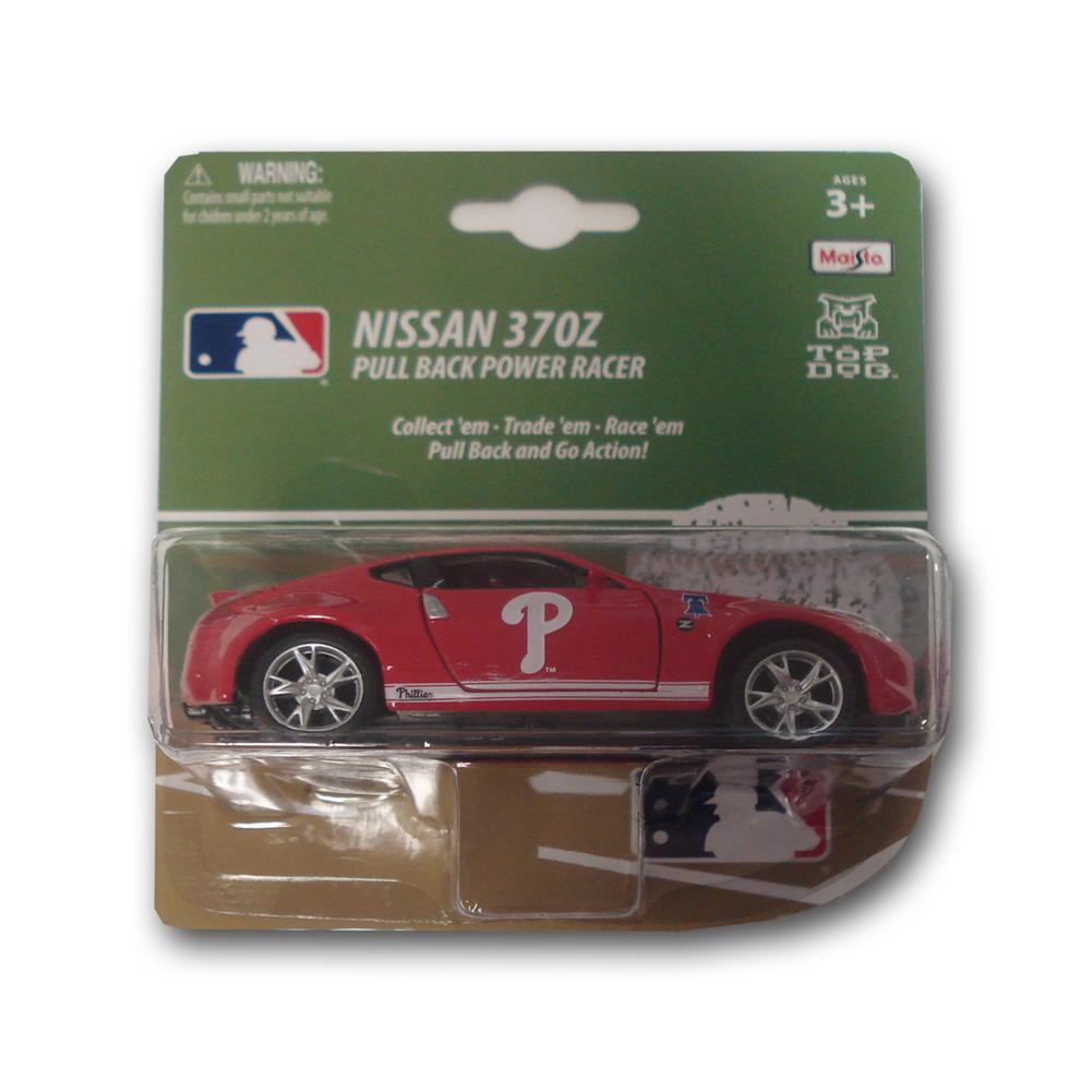 MLB Philadelphia Phillies 1:43 Scale Diecast Model Car