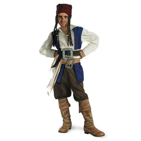 Pirates of the Caribbean Jack Sparrow Child Halloween Costume (Pirates Of The Caribbean Jack Sparrow Costume)