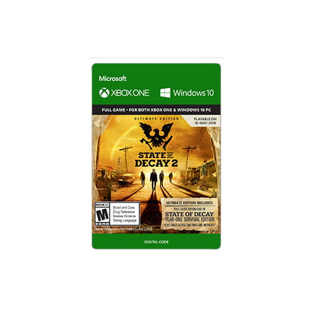 State of Decay 2: Ultimate Edition, Microsoft, Xbox One, [Digital