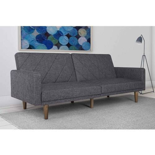 Felix Linen Futon Gray - Room & Joy