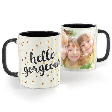 Black Photo Mug 11 oz