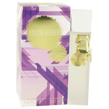 Justin Bieber Collector's Edition by Justin Bieber Eau De Parfum Spray 3.4 oz for Women (Justin Bieber Halloween Mask Printable)