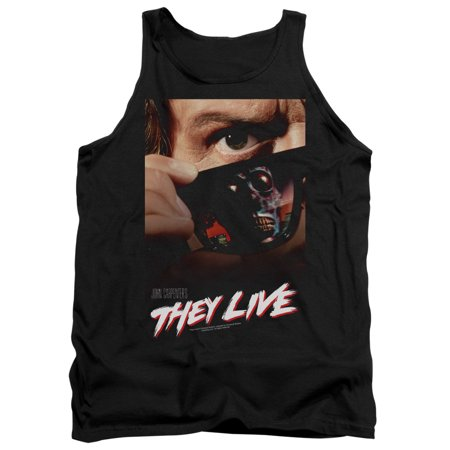 They Live Poster Mens Tank Top Shirt