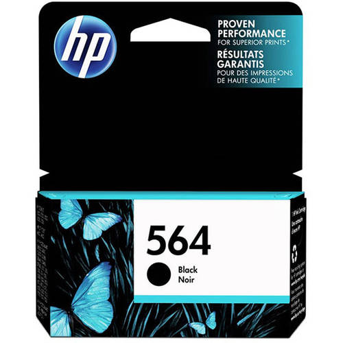 HP 564 Black Original Ink Cartridge (CB316WN)
