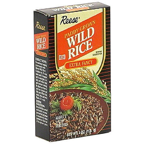 Reese Minnesota Paddy Grown Wild Rice, 4 oz (Pack of 12)