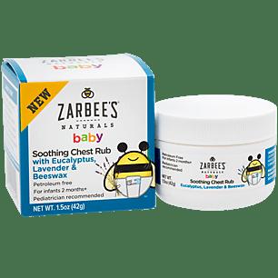Zarbee S Naturals Baby Chest Rub 1 5oz Walmart Com