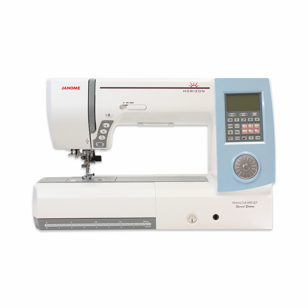 Janome Horizon Memory Craft 8900QCP Special Edition Sewing and Quilting Machine Refurbished