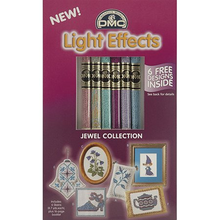 DMC Light Effects Floss Pack, 6/Pkg