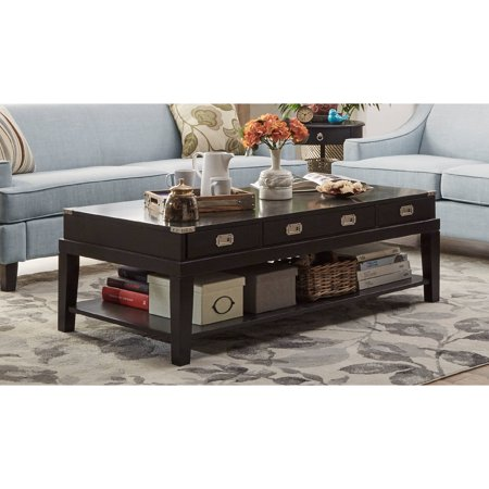 Chelsea lane coffee table black for Epl table 98 99