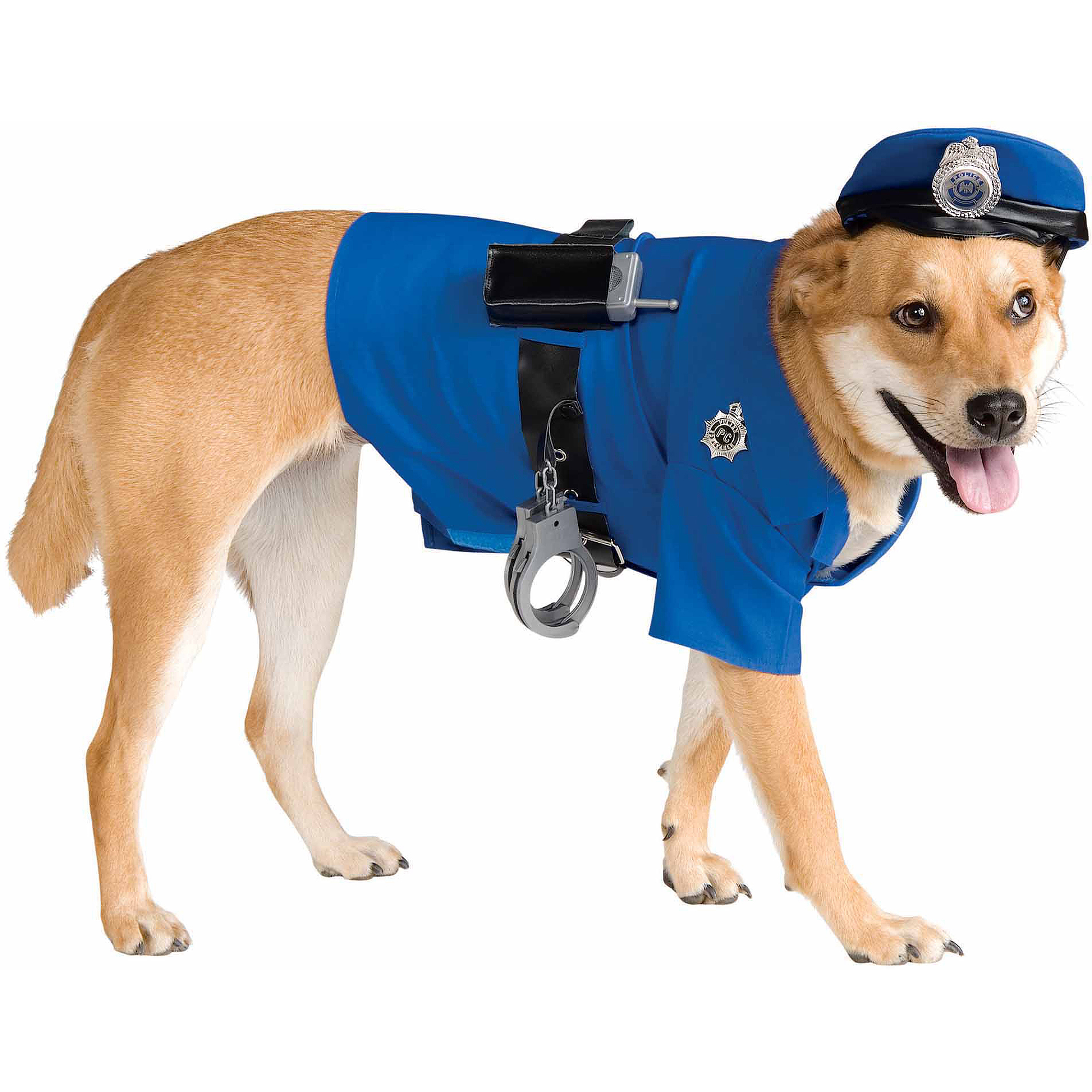 Police Halloween Pet Costume (Multiple Sizes Available)