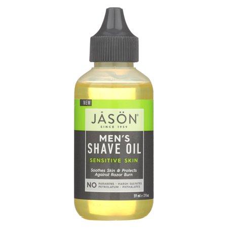 Jason Natural Products Shave Oil - Men's - Sensitive - 2 Fl