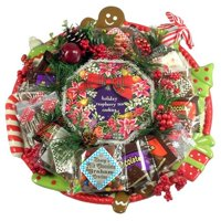 Gift Basket Drop Shipping ChCo Deluxe Christmas Cookie Platter, Holiday Cookie Arrangement