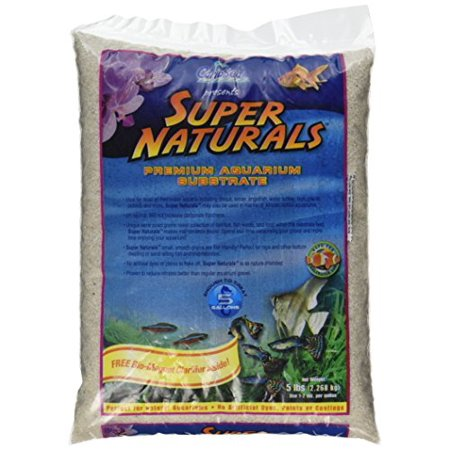 Carib Sea Acs05840 Super Naturals Crystal River Sand For Aquarium 5-Pound (Pack of