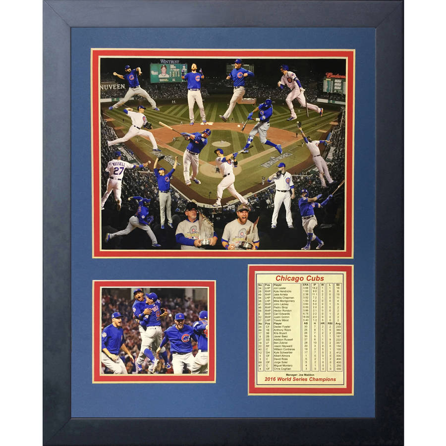 2016 World Series Champions Collage by Legends Never Die