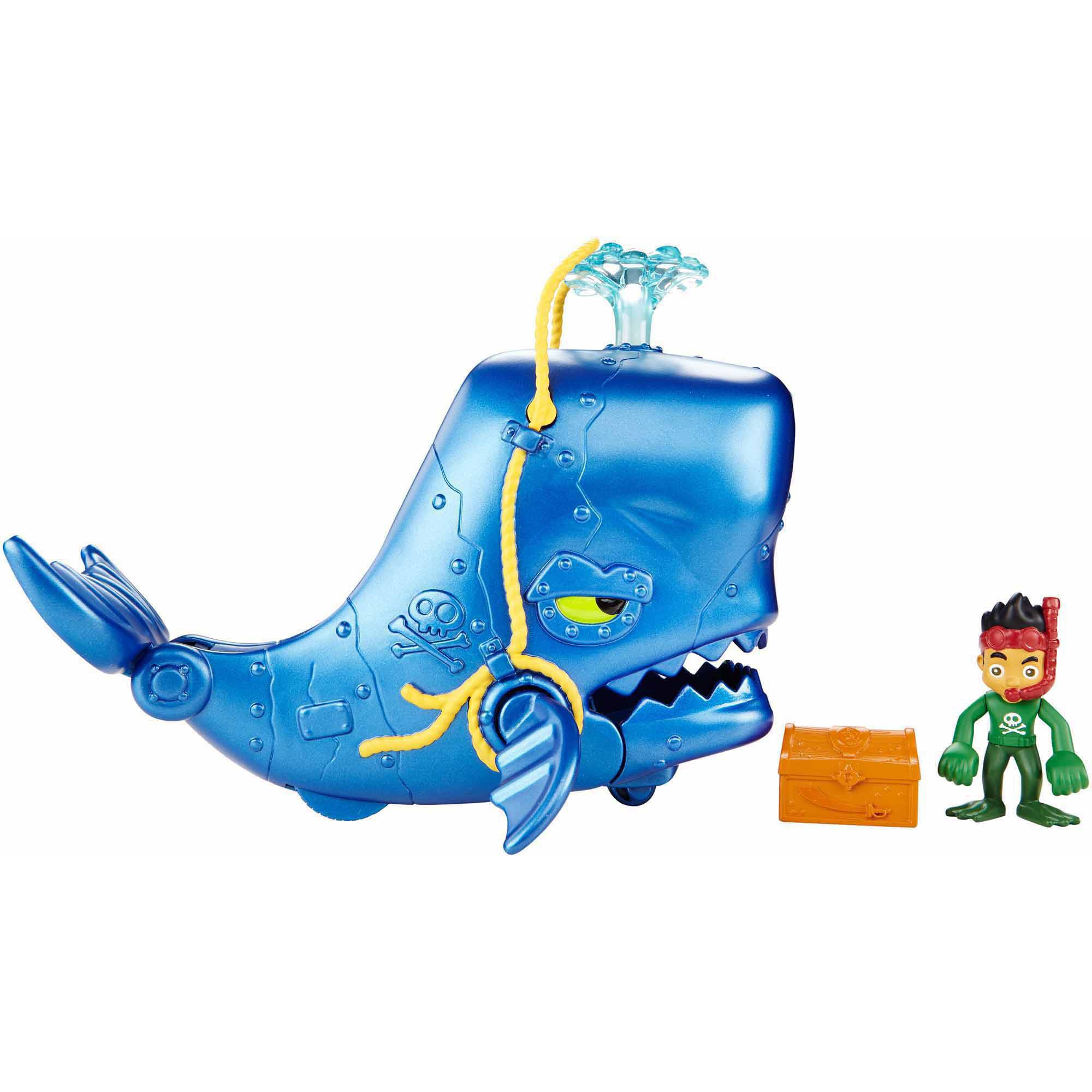 Fisher Price Jake And The Neverland Pirates Super Creature Whale Adventure