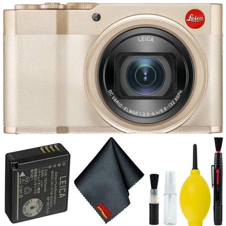 Leica C-Lux Digital Camera (Light Gold) Basic Bundle