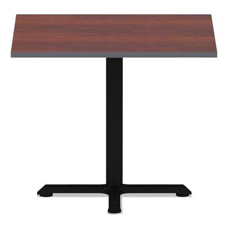 Alera Reversible Laminate Table Top, Square, 35 3/8w x 35 3/8d, Medium Cherry/Mahogany -ALETTSQ36CM ()