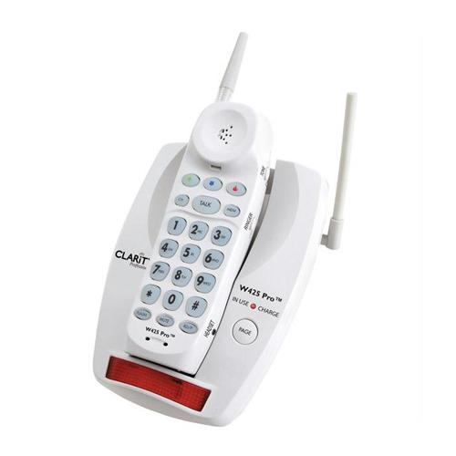 Clarity W425 Pro 900MHz Amplified Cordless Phone