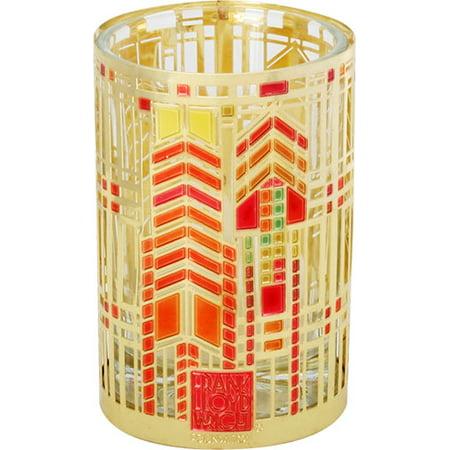 Frank Lloyd Wright Flw Autumn Sumac Votive Candle Holder Figurine Tea Light Decor 3 25 H