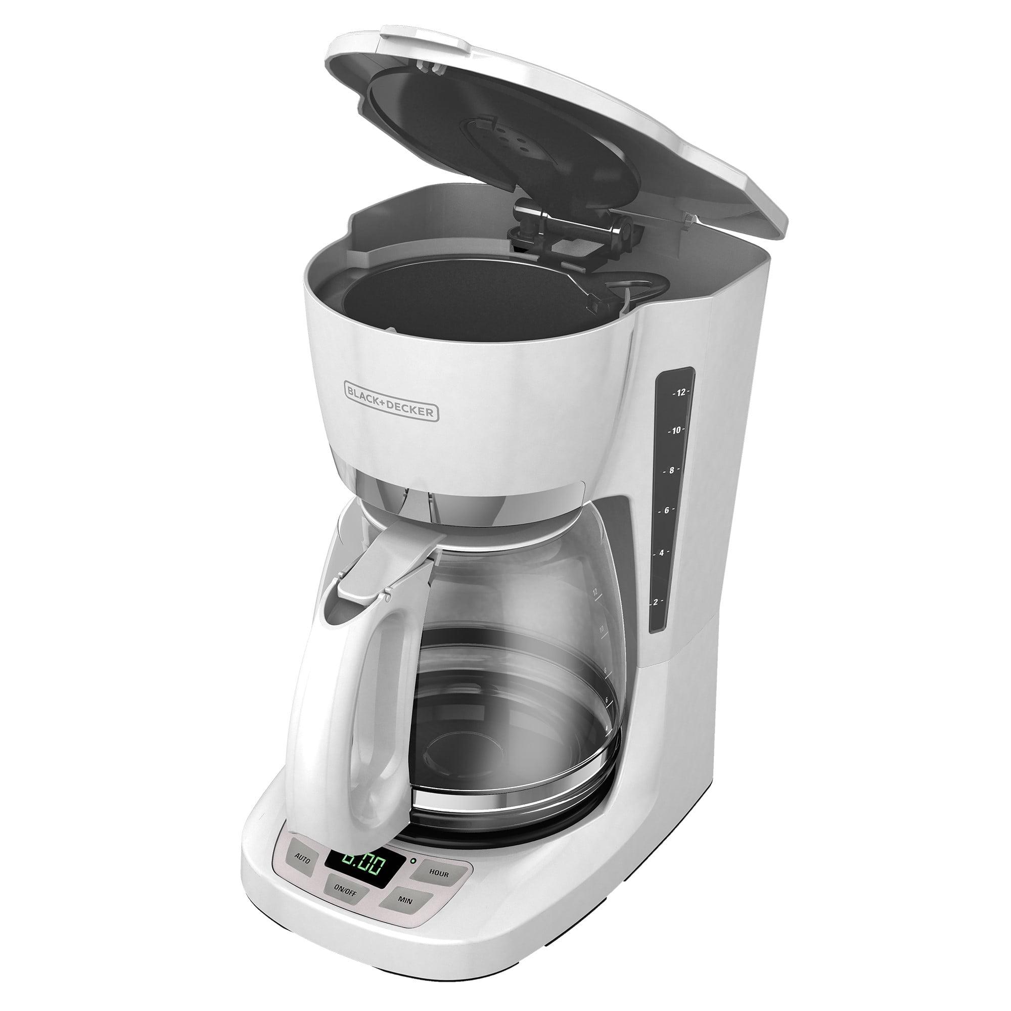 Black & Decker 12-Cup Programmable Coffee Maker, CM1060W by BLACK DECKER