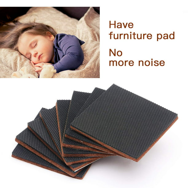 Furniture Pads 12 Pcs 3 Hn Stg Non Slip Premium Furniture Gripper Best Self Adhesive Square Rubber Pad Chair Leg Hardwood Floor Protector Sofa Anti Slip For Fix In Place Furniture Bed