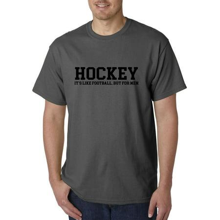 New Way 939 - Unisex T-Shirt Hockey It