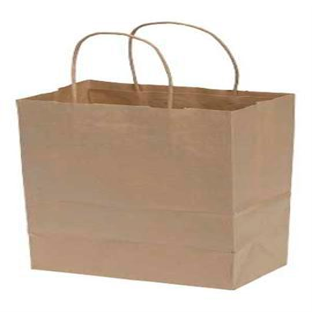 "Halloween Brown Paper Bag Decorating (Medium Natural Kraft Paper Shopping Bags - 8 ¼""L x 4 ¾""D x 10 ½""H - Case of)"