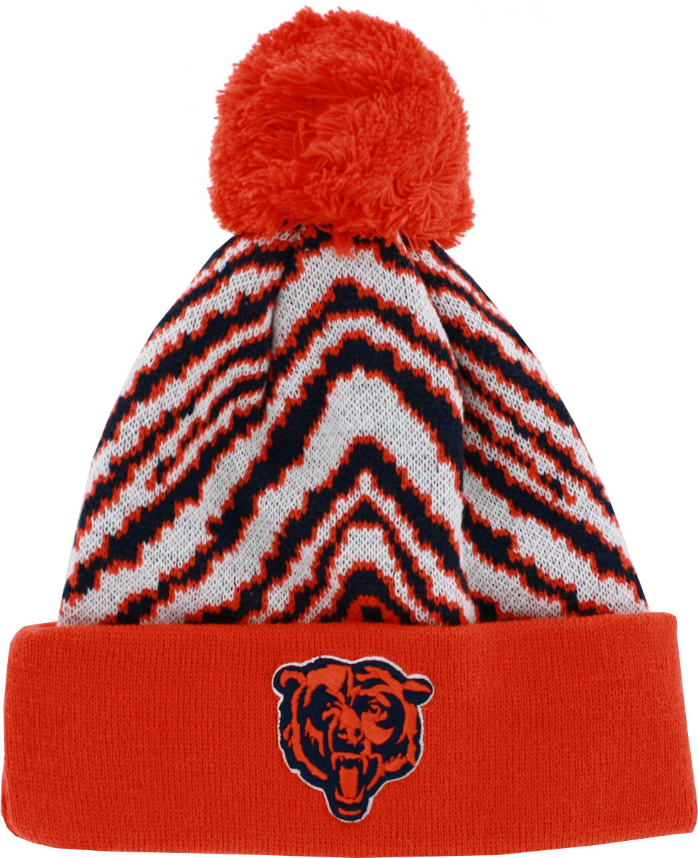 NFL Chicago Bears Youth Hat Knit Winter Pom Beanie by Genuine Outer Stuff