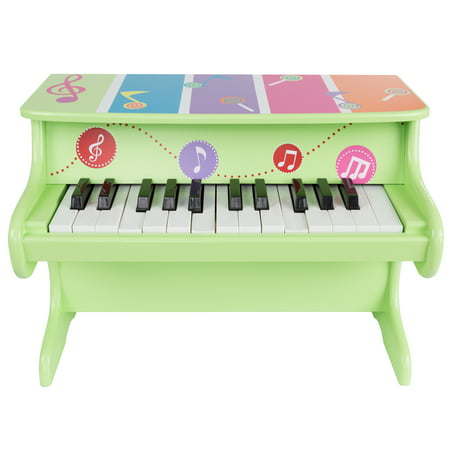 Ez Play Piano - Children's Toy Piano 25-Key Colorful Musical Upright Piano with Sounds for Learning to Play for Children, Toddlers by Hey! Play!