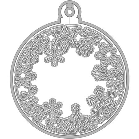 Hero Arts Fancy Dies-Snowflake & Ornament - image 1 de 1
