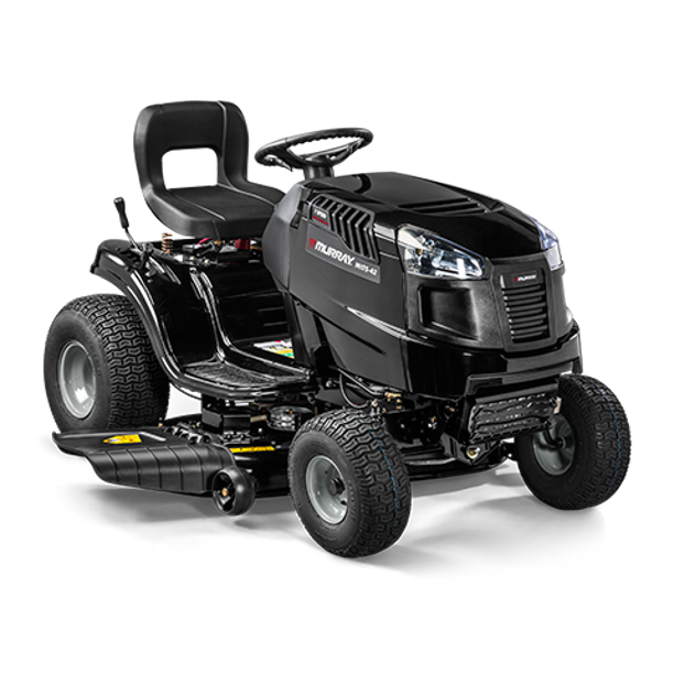 Murray 42 In 17 5 Hp Riding Lawn Mower With Briggs And Stratton Engine Walmart Com Walmart Com