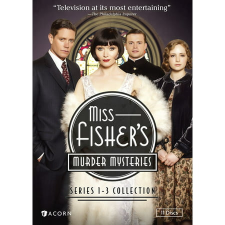 Miss Fisher's Murder Mysteries: Series 1-3 Collection (DVD) - Halloween Murder Mystery Party