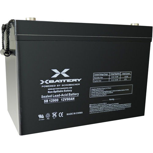 Schumacher Electric 12V 90AH Battery