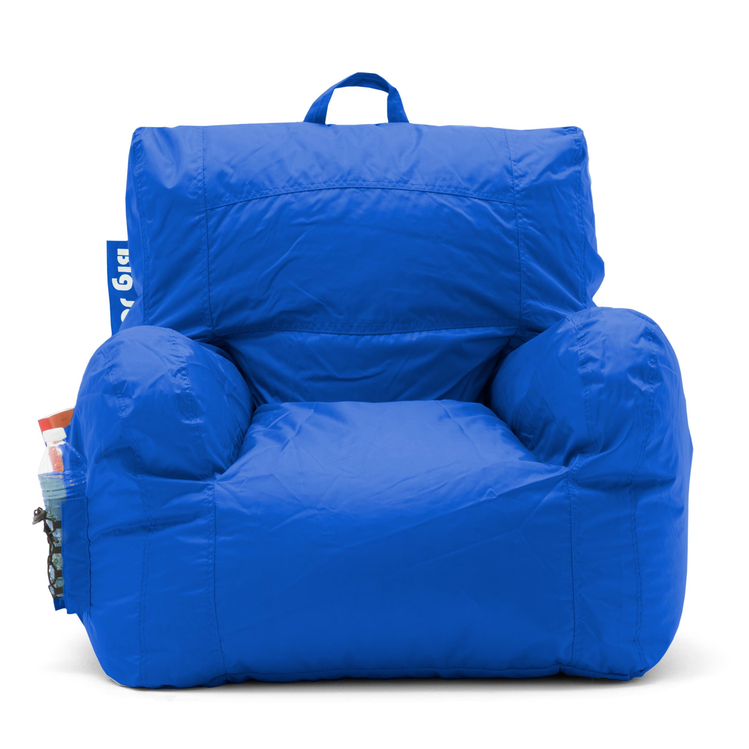 Bean Bag Chair Big Joe Blue Cozy Waterproof Seat Dorm ...