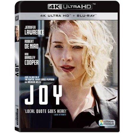 Joy  4K Ultrahd   Blu Ray   Digital Hd