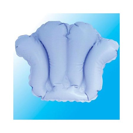 Deluxe Comfort Inflatable Bath Pillow with Suction Cups - Walmart.com