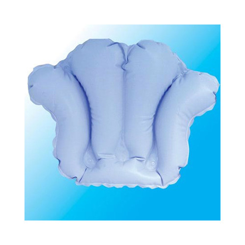 ... Deluxe Comfort Inflatable Bath Pillow with Suction Cups