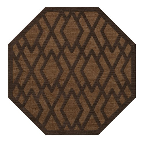Everly Quinn Browndell Tufted Wool Caramel Area Rug