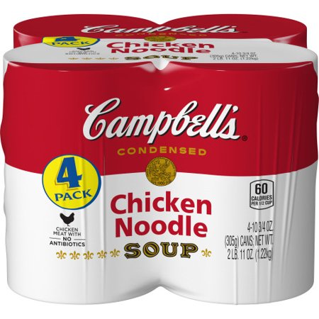 (8 Cans) Campbell's Condensed Chicken Noodle Soup, 10.75 oz