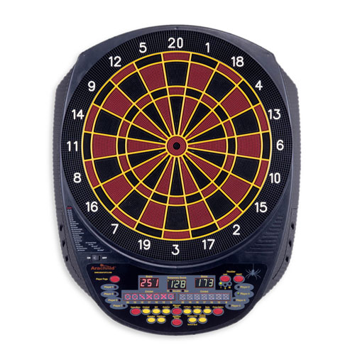 Arachnid DarTronic 300 Soft-Tip Dart Game with Heckler Option by DMI Sports