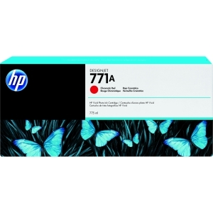 3PK 771A CHRMTC RED INK CARTRIDGE FOR DESIGNJET