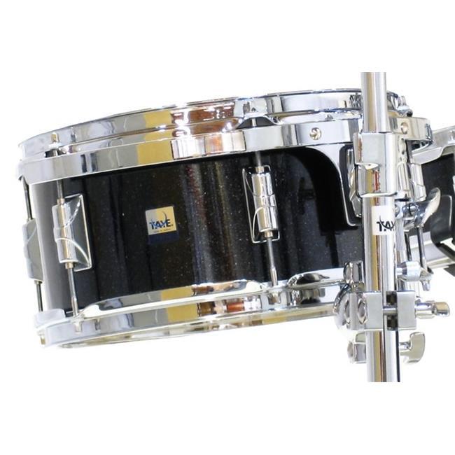 taye gk1407r-bkm 14 x 7 in. gokit add-on rackr tom drum, black microflake