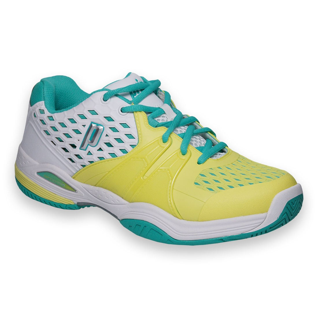 Prince  Warrior Women's Multicolored Mesh Tennis Shoe