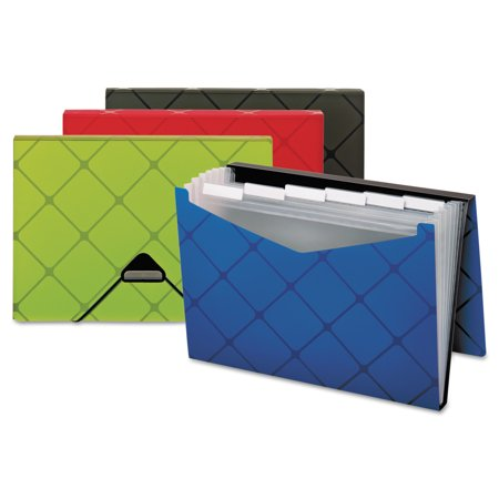 Pendaflex Poly Expanding File  7 Pockets  1 3 Tab  Letter  Assorted