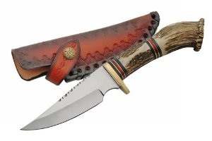 Szco Supplies Crown Hunting Knife Multi-Colored by SZCO Supplies