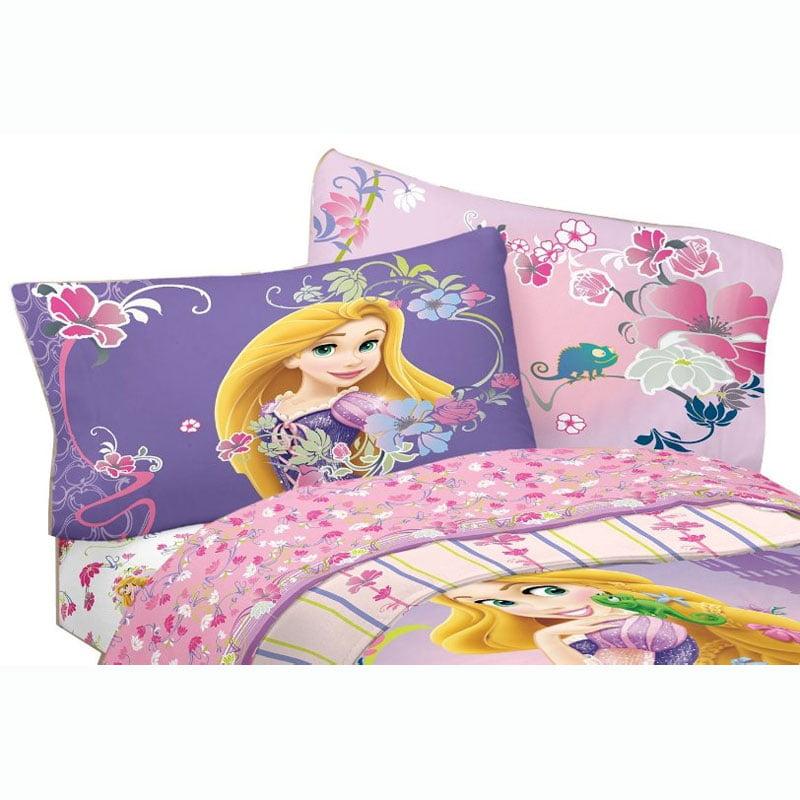 3pc Disney Tangled Twin Bed Sheet Set Princess Rapunzel ...