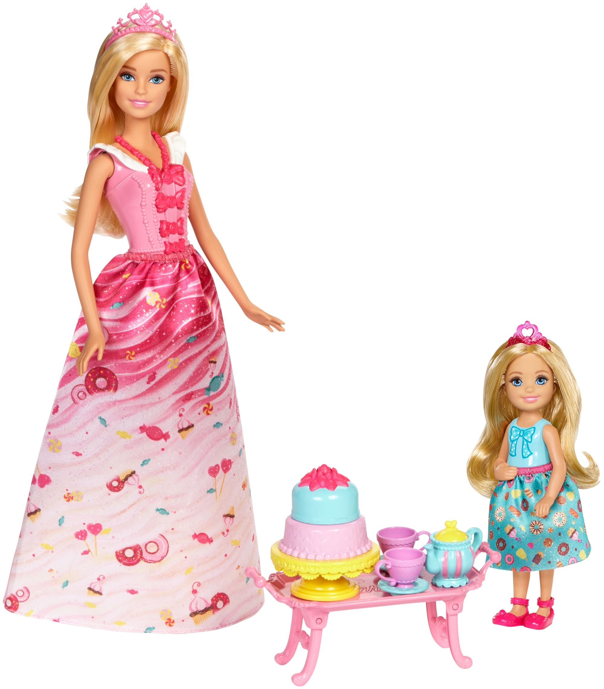 Barbie Dreamtopia Sweetville Princess Tea Party by Mattel